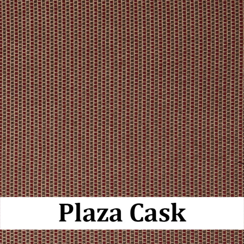 Custom Patio Outlet Stock Fabric - Plaza Cask