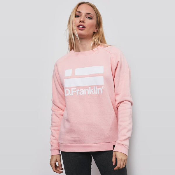 Sweatshirt Logo White / Makeup