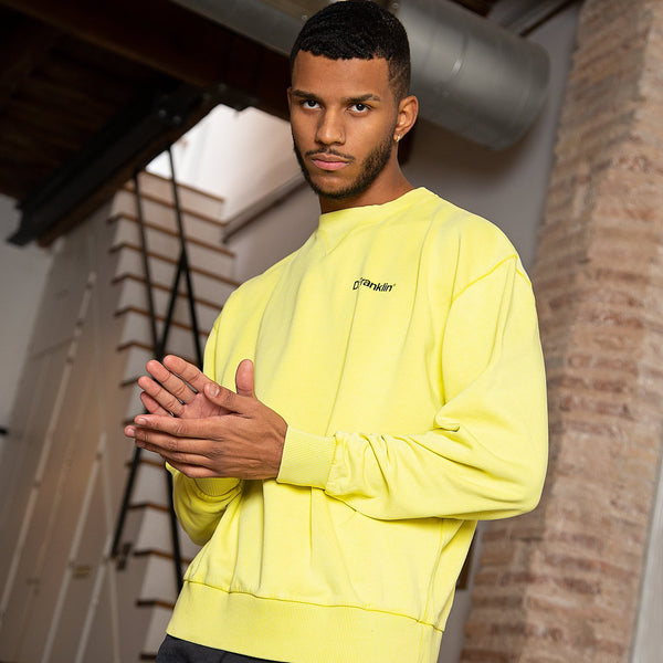 Sweatshirt Oversized D.Franklin Basic Yellow
