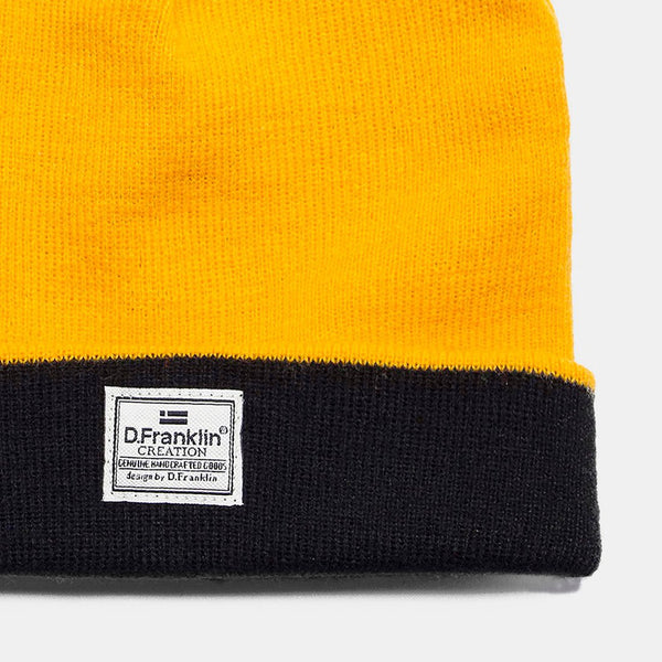 Basic Yellow Beanie