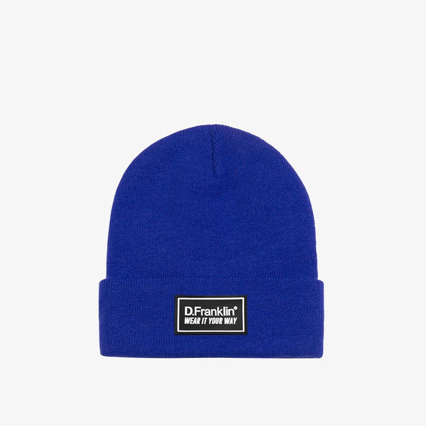 Mountain Navy Beanie