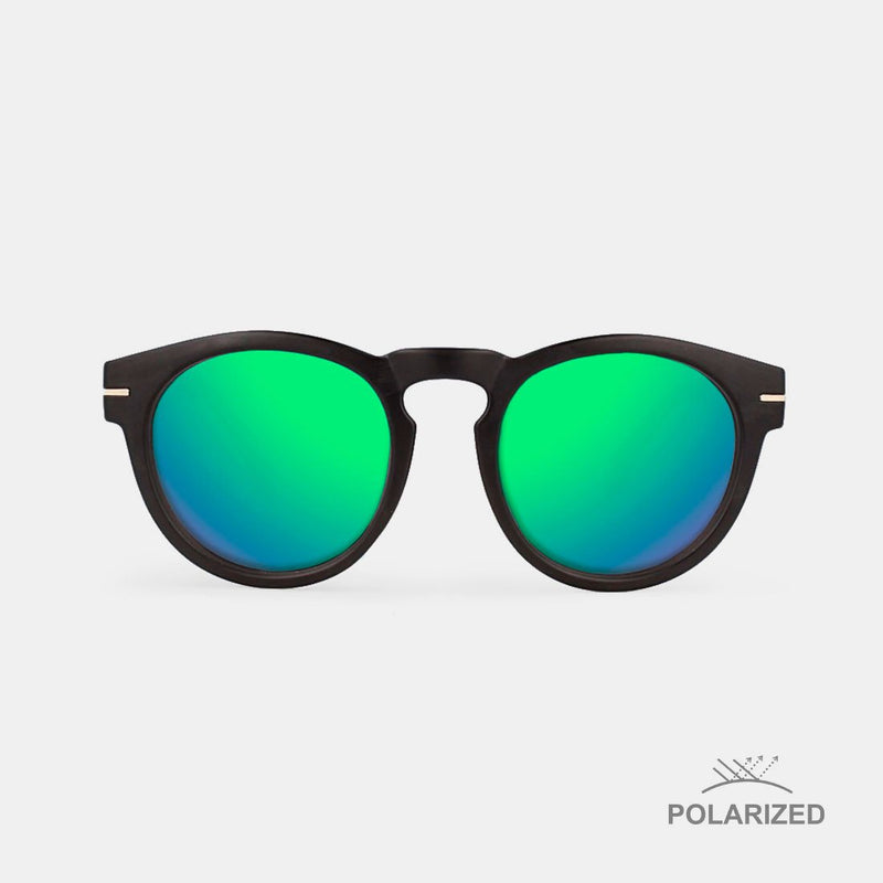 Rem Black / Green Polarized