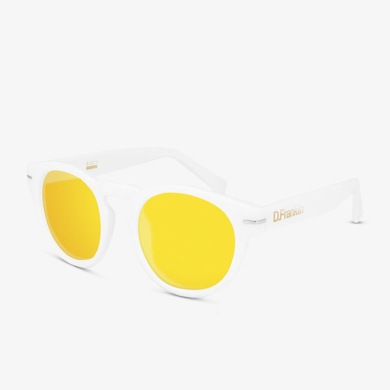 Rem White / Gold Polarized