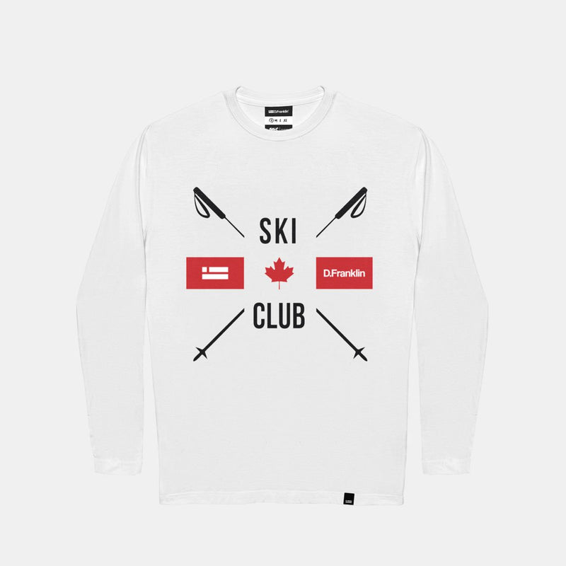 Club Long Sleeve T-Shirt White