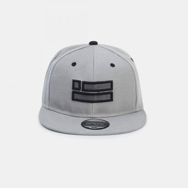 Grey Chrome Snapback