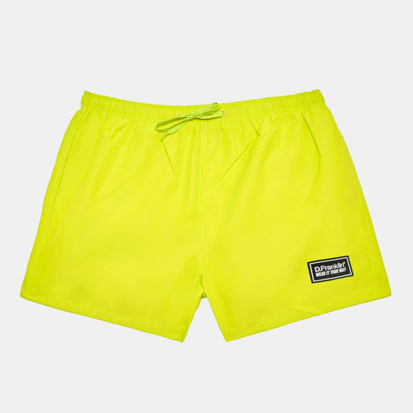 Yellow Swim Short