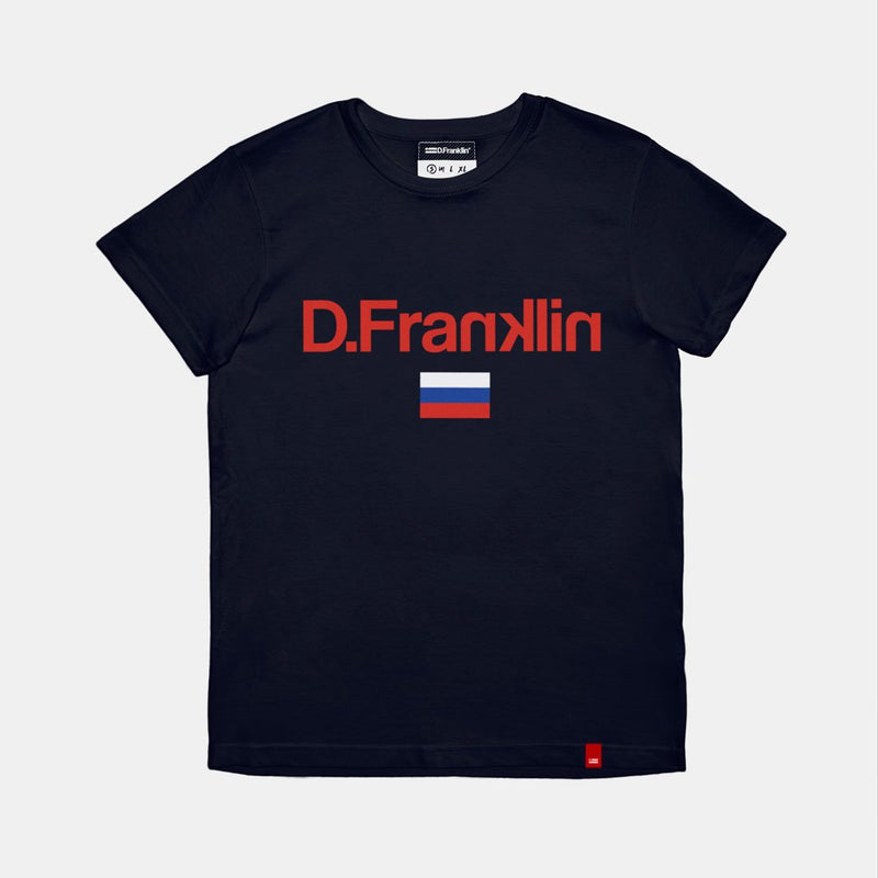 Moscow Navy Tee