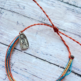Wanderer Catholic Companion Bracelets | Our Lady of Guadalupe | Saint Companion Bracelets