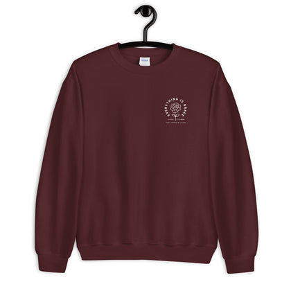 Wanderer Catholic Gildan 18000 Sweatshirt Merry Christmas 2020 Edition Red