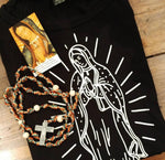 Our Lady of Guadalupe Unisex T-shirt black