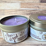 Lavender Soy Wax Candle 4 oz two candles adjacent