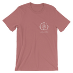 Everything is Grace Saint Thérèse of Lisieux Little Flower Short-Sleeve Unisex T-Shirt mauve