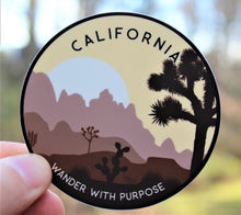 Load image into Gallery viewer, Wanderer California Sticker | Catholic Stickers for Water bottles, laptops, and cars