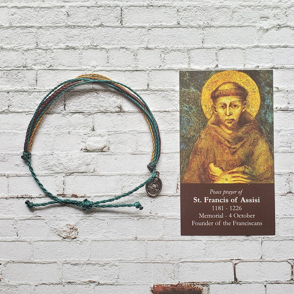 Wanderer Companion Bracelet | Saint Francis of Assisi