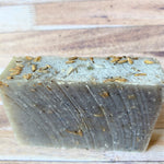 Calming Lavender Bar Soap hand made franciscan peacemakers with bits of lavender in bar