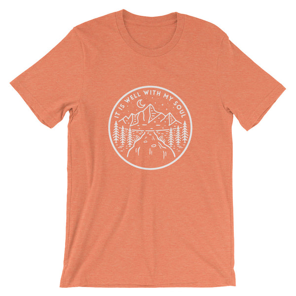 It is Well With My Soul Unisex T-Shirt orange