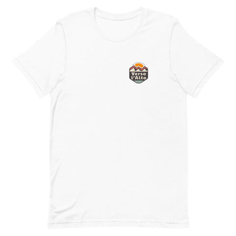 Verso L'Alto Badge Short-Sleeve Unisex T-Shirt