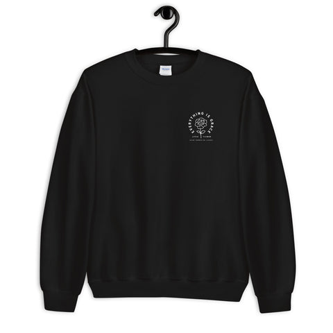 Saint Thérèse of Lisieux Little Flower Unisex Sweatshirt black