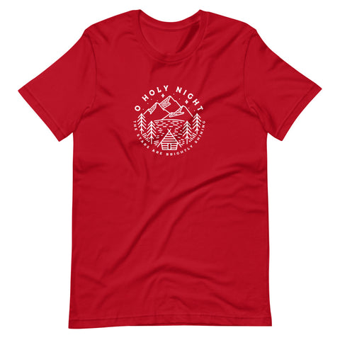O Holy Night Christmas Short-Sleeve Unisex T-Shirt