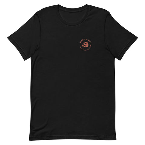 Memento Mori Badge Style Short-Sleeve Unisex T-Shirt