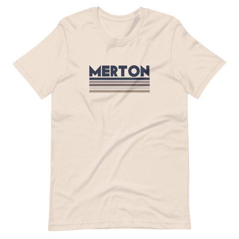 Merton Short-Sleeve Unisex T-Shirt soft cream