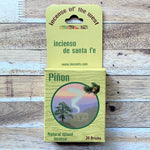Pinon fragrance 20 count box natural wood incense front
