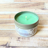 Christmas Tree Soy Wax Candle 4 oz front view