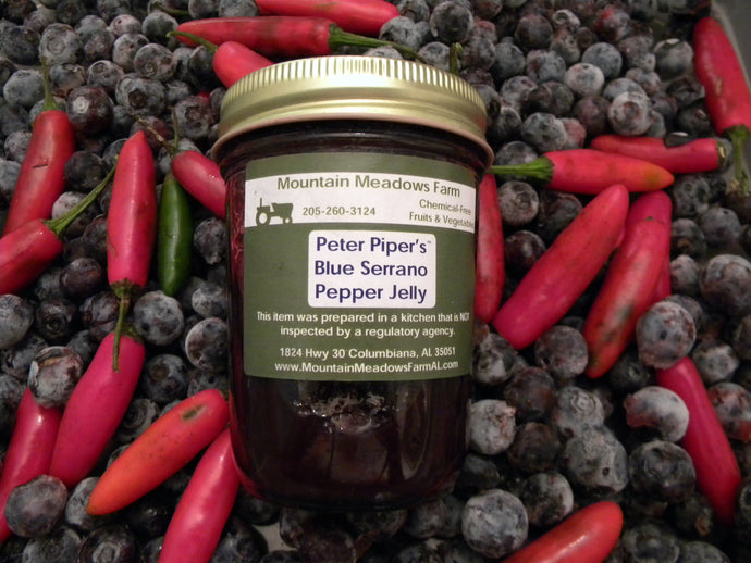 Blueberry Serrano Pepper Jam