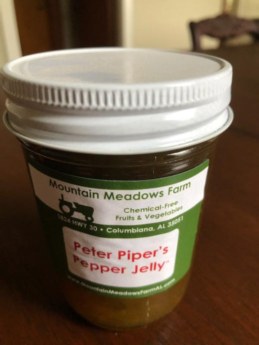 Green Jalapeno Pepper Jam