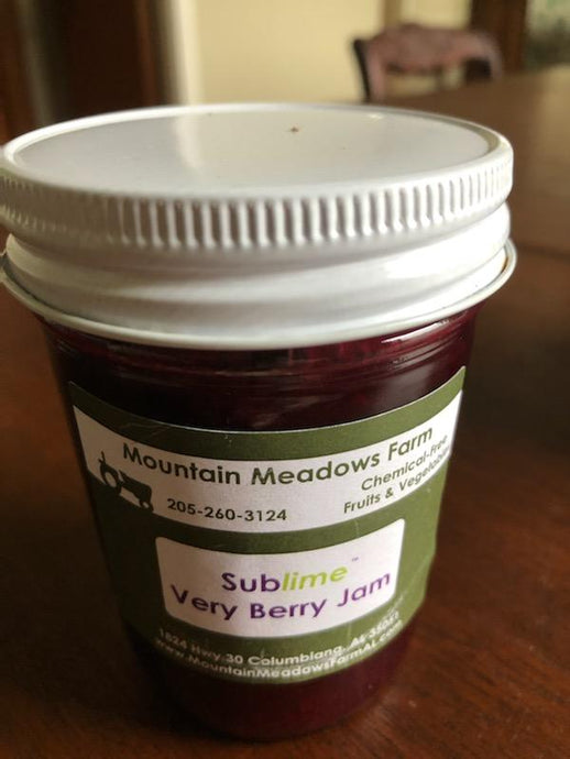 Very Berry Jam