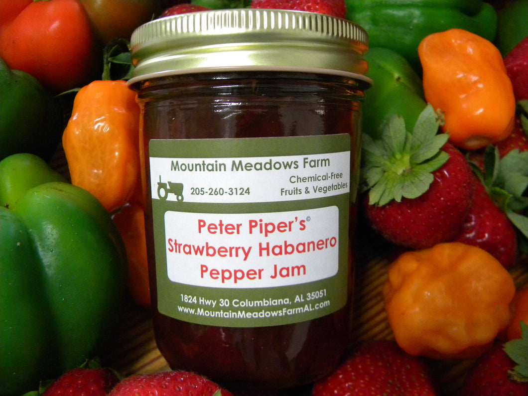 Strawberry Habanero Pepper Jam