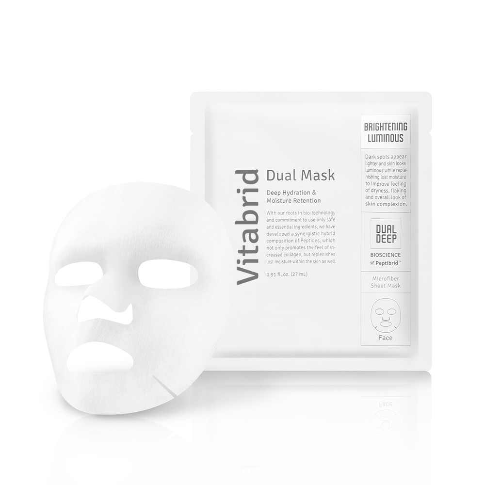 Vitabrid Dual Mask: Brightening & Luminous (1 Pc)