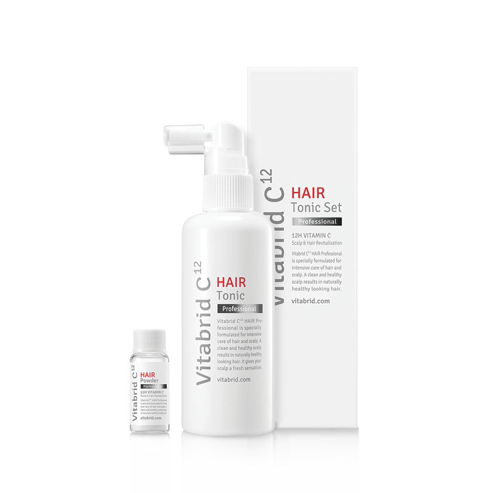Pre-Order: Vitabrid C¹² HAIR Tonic Set: Professional (Deliver/Collect from about end-Oct onwards)