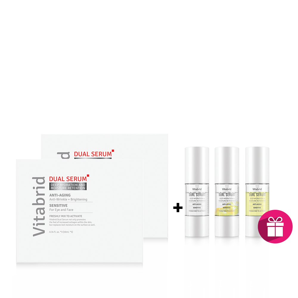 [Buy 2 Get 1 Free] Vitabrid Dual Serum (Box of 3 Pcs)