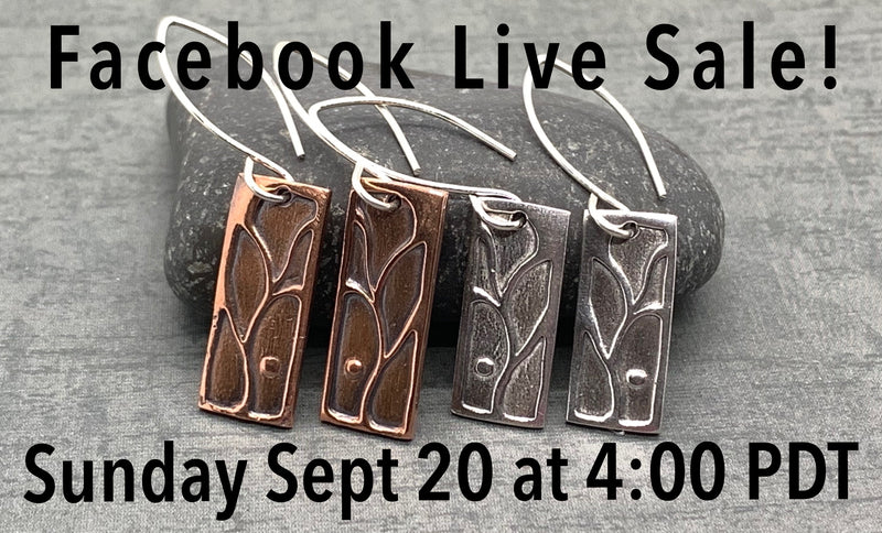 Next Facebook Live Sale!