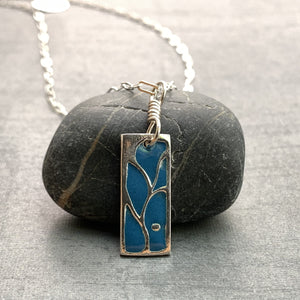 Falling Fruit Necklace - Enameled