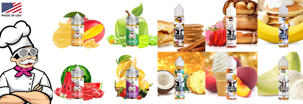 Hype City Ejuice (Fruit ) (Not available in canada)