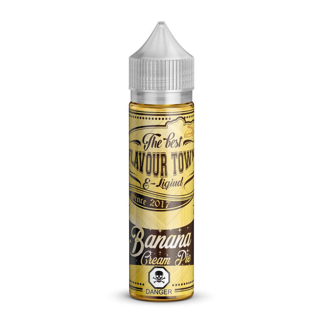 Flavour Town Banana Cream Pie Ejuice.