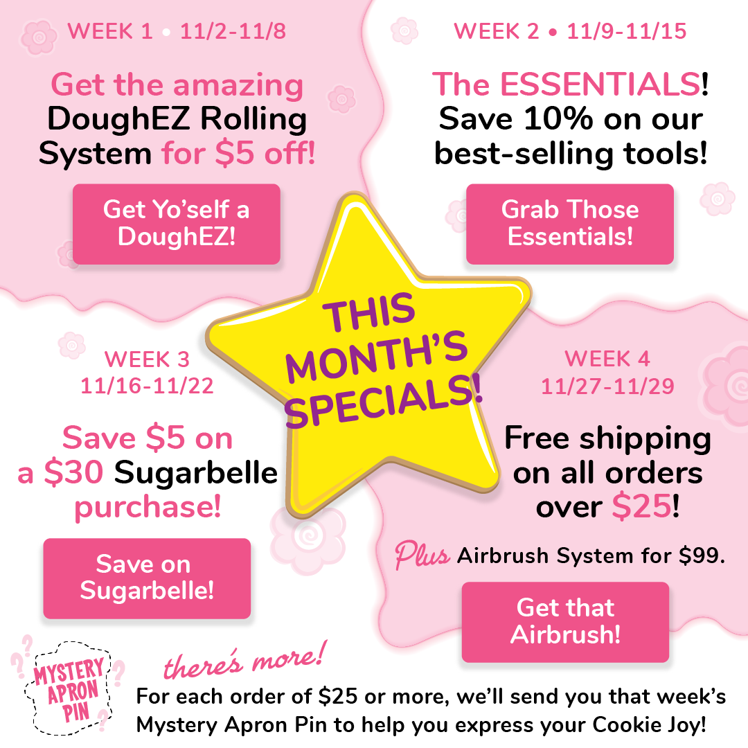 A Month of Cookie Joy and Savings!