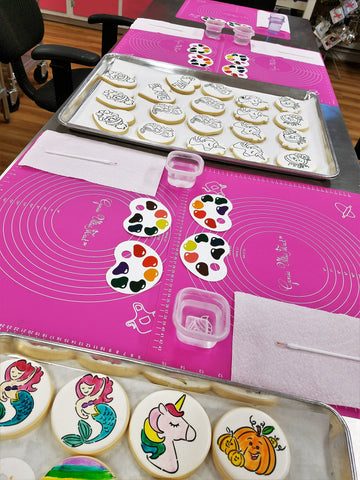 Flour Box Bakery — How to Make 'Paint Your Own' Cookies (and