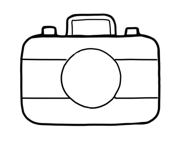 Flour Box Bakery — Camera Cookie Cutter by Flour Box Bakery
