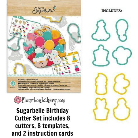 The Set Includes 8 Cookie Cutters Templates And 2 Instruction Cards To Help Your Creative Decorating Started Cutter Shapesballoon Cake