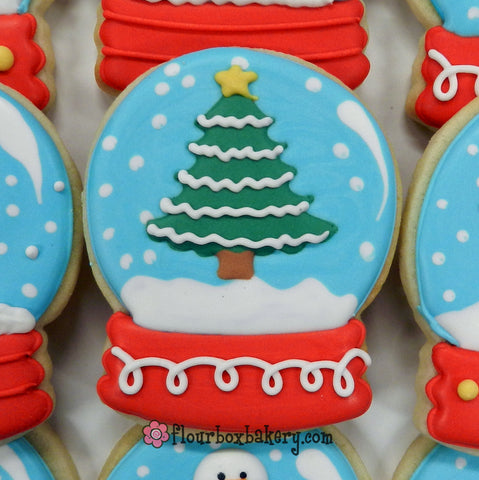 Flour Box Bakery Day 12 Of Cookie Videos How To Decorate A Snow