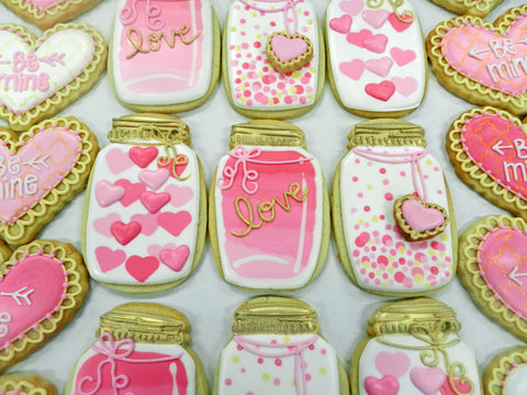Flour Box Bakery How To Decorate A Mason Jar Cookie
