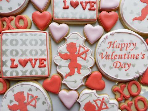I Love Using Stencils Because They Create Very Precise Cookies. This Video  Features Several Of Our Best Selling Valentine Stencils.