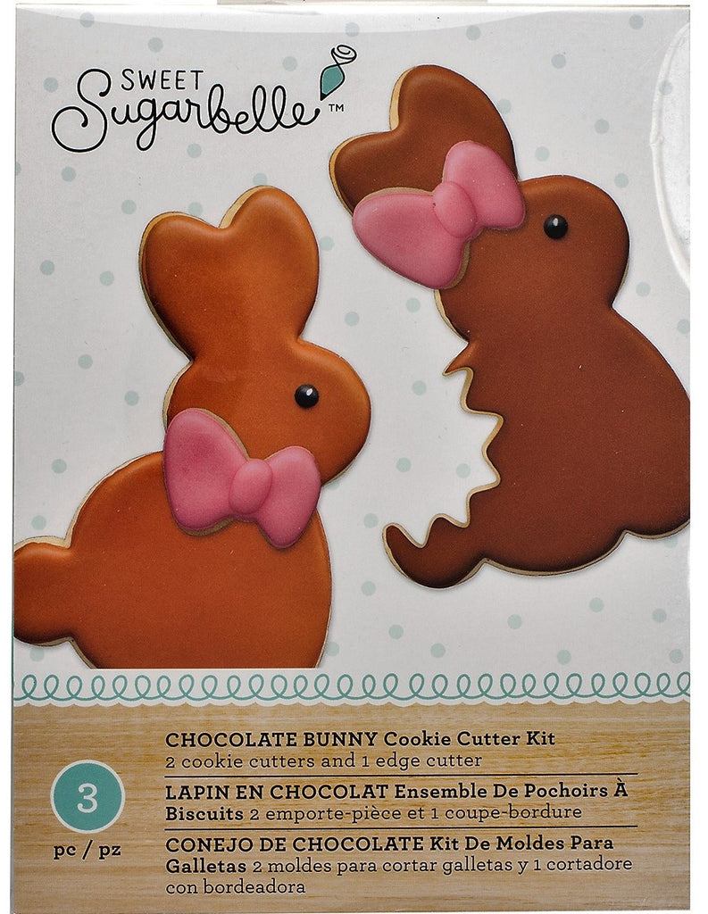 Chocolate Bunny Cookie Cutter Kit