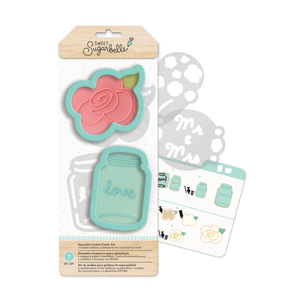 Country Rose Cookie Cutter Sugarbelle Set