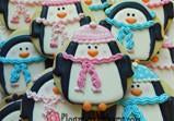 Chilly Penguin Cookie