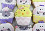 Easter Chick Cupcake Cookie