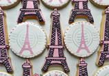 Eiffel Tower Cookie